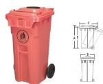 Контейнер мусорный КМП-100
