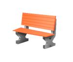 Скамья бетонная-3